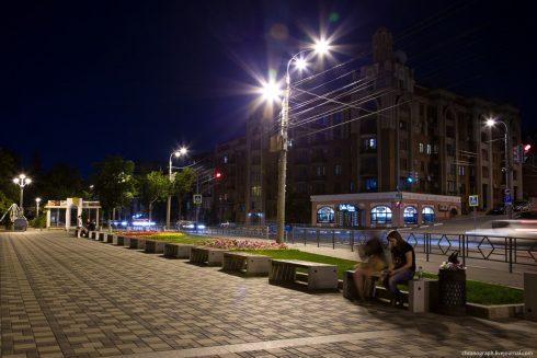 Самару включили в топ городов с самыми красивыми улицами для вечерних прогулок