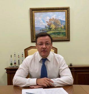 Дмитрий Азаров призвал жителей Самарской области соблюдать масочный режим и социальную дистанцию