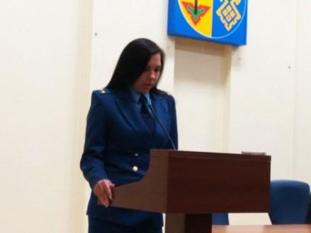 Ирина Мазур покинула прокуратуру Тольятти