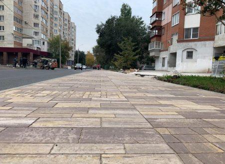 В Самаре отремонтировали более 54 км дорог местного значения