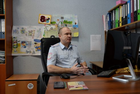 В Самарской области проводятся профилактические беседы со школьниками о безопасном дорожном движении