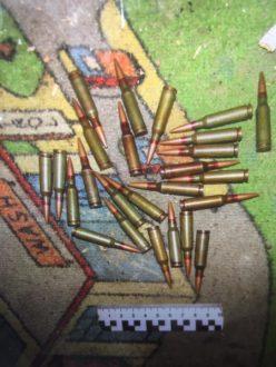 В Самаре сотрудники полиции обнаружили тайник с боеприпасами