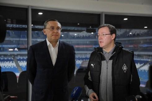 В ближайшее время будет представлена концепция развития футбольного клуба «Крылья Советов»