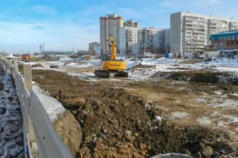 Строительство продолжения улицы Офицерской в Тольятти идет с отставанием