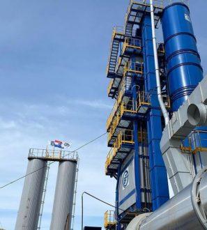 В Самарской области произведена новая установка для производства асфальта
