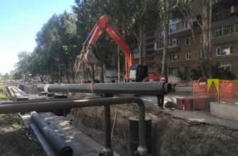 В Самаре на трех участках ведутся работы по перекладке труб