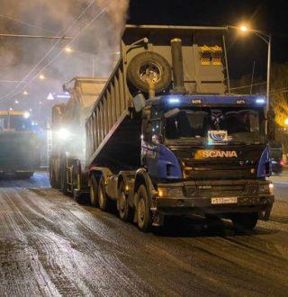 В Самаре на Московском шоссе по нацпроекту обновляют 8 км дорожного покрытия
