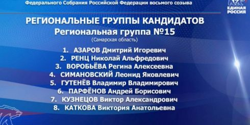 Дмитрий Азаров возглавил территориальную группу Самарской области на выборах в Государственную Думу