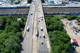 Самарский блогер снял с воздуха финальную стадию ремонта путепровода на проспекте Кирова