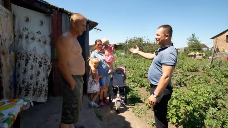Общественное движение «Спасибо» совершило благотворительную поездку в посёлок Менжинский