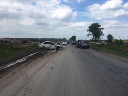 Стали известны подробности аварии на Хрящевском шоссе в Самарской области