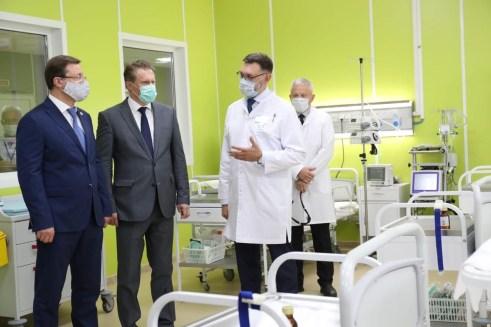 В Тольятти открылся новый COVID-госпиталь