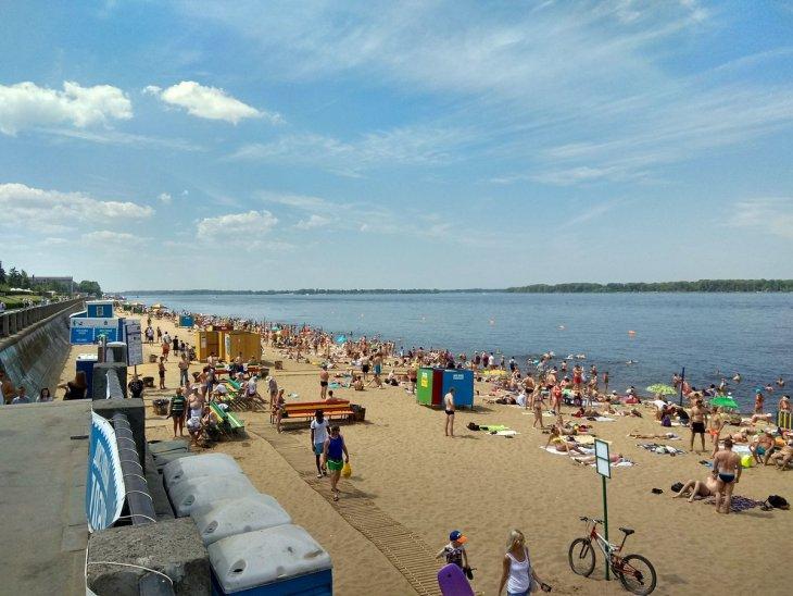 Самарцы назвали лучшие пляжи в черте города