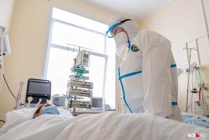 В Самарской области увеличилась заболеваемость COVID-19 на 34,5%