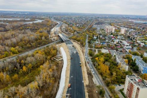 Движение по переходу через путепровод Кряж – Самара планируют запустить в конце ноября