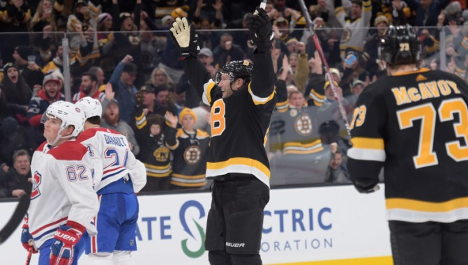 Bruins Notes: David Backes Plays Big Role In Return To Lineup Vs. Canadiens  - NESN.com
