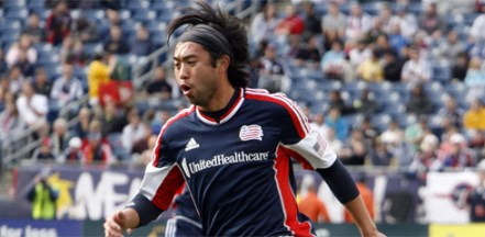 Lee Nguyen was a big part of the little offense the Revolution had on Saturday. (Photo: Chris Aduama/aduama.com).