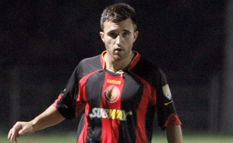 Boston Victory midfielder Ruben Resendes was one local collegian who saw playing time with the club during their inaugural season. (Photo: Chris Aduama/aduama.com)