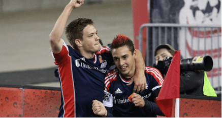 Kelyn Rowe combined with Diego Fagundez to score the game's lone goal in the Revolutions preseason win over the Chicago Fire on Wednesday.