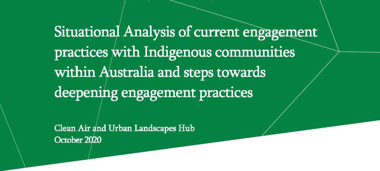 Situational analysis of current engagement practices with Indigenous communities within Australia and steps towards deepening engagement practices