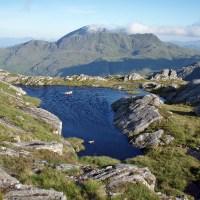 Wild camp between Luinne Bheinn and Meall Buidhe