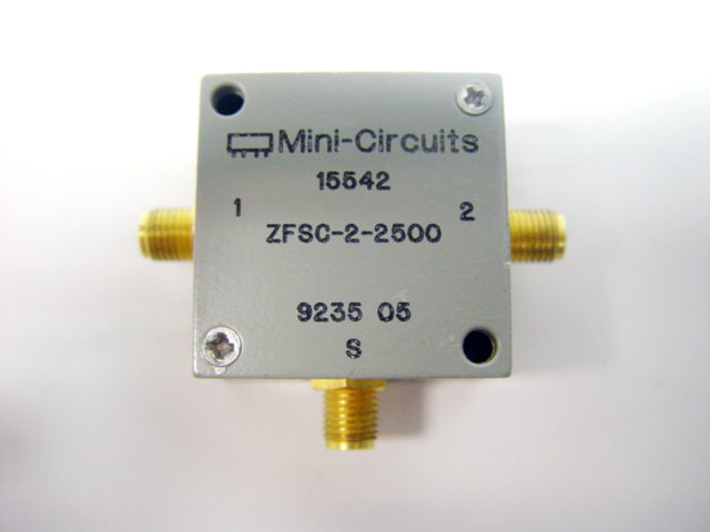 Mini Circuits Zfsc 2 Power Splitter Combiner Rf