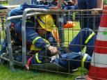 Rettung eines Verletzten