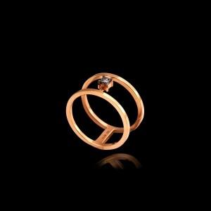 Εναλλακτικό Μονόπετρο Δαχτυλίδι