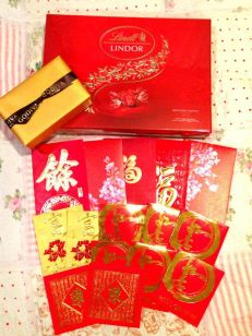 LOVE RED AND GOLD