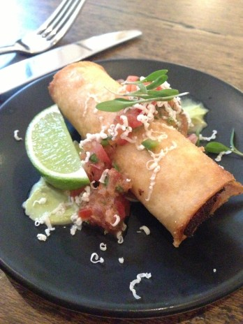 Pulled pork taquito $6.50