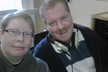 Me and Simon Young