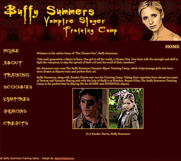 buffy website