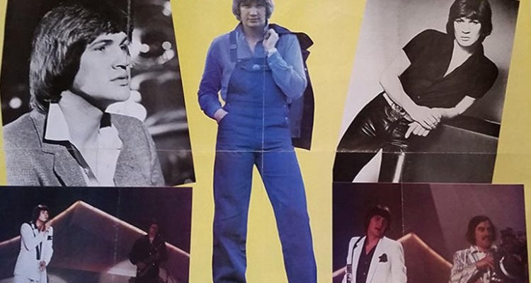 Assortment of Johnny Logan photos compiled into a poster - nessymon.com