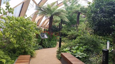 Crossrail Roof Garden Canary Wharf - nessymon.com