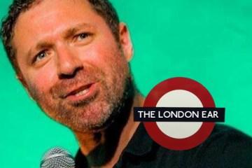 Wes Dalton - Funny feckers comedy - The London Ear - nessymon