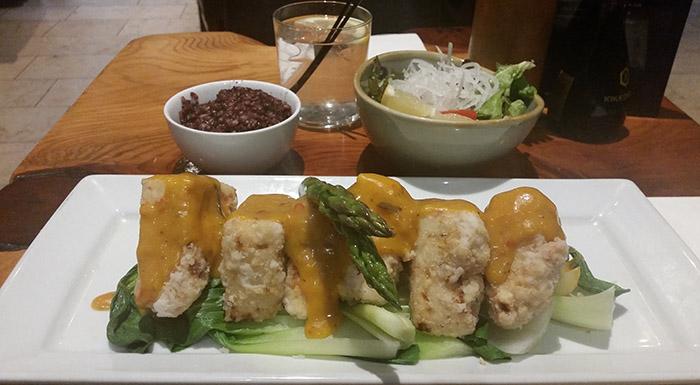 Yamamori - Tofu Steak - nessymon