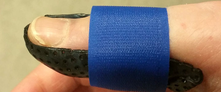 my new thumb splint - nessymon