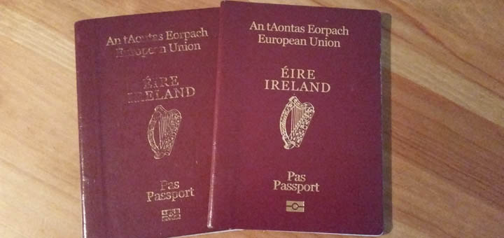 Can i apply to renewing my irish passport online uk