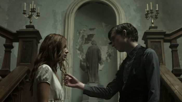 A still from the film The Lodgers