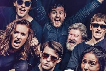 Cast of Chasing Bono at Soho Theatre