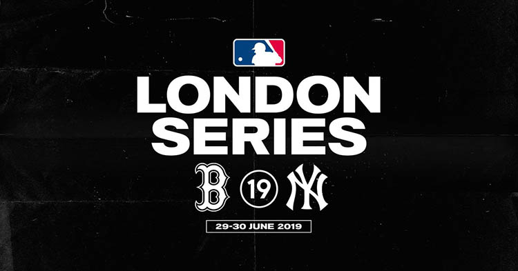 MLB Promo for London Series on 29/30 June 2019 featuring Boston Redsox and New York Yankees