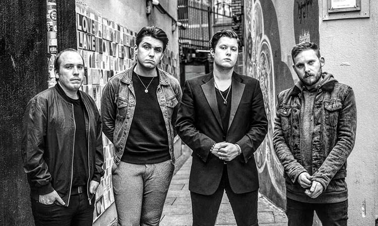 State Lights black and white promo shot