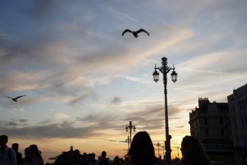 Sunset on Brighton Seafront