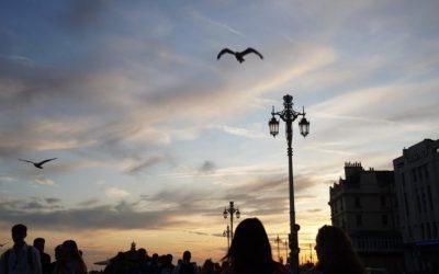 Sunset on Brighton Seafront