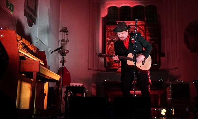Jack Lukeman Live at St Pancras Old Church