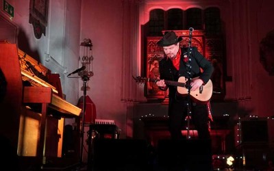 Jack Lukeman Live at St Pancras Old Church
