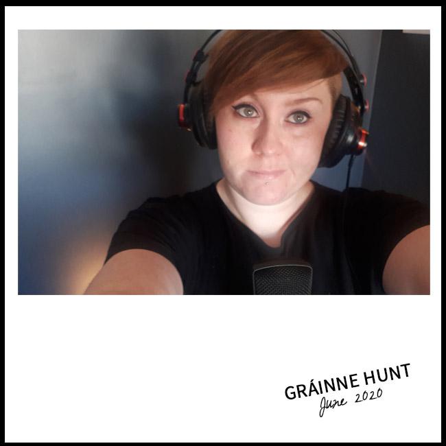Grainne Hunt Selfie for nessymon
