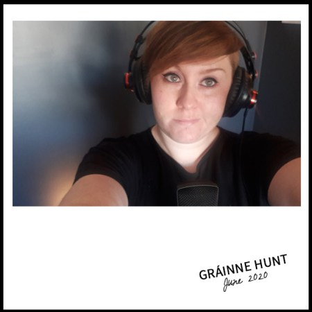 Grainne Hunt Selfie for nessymon