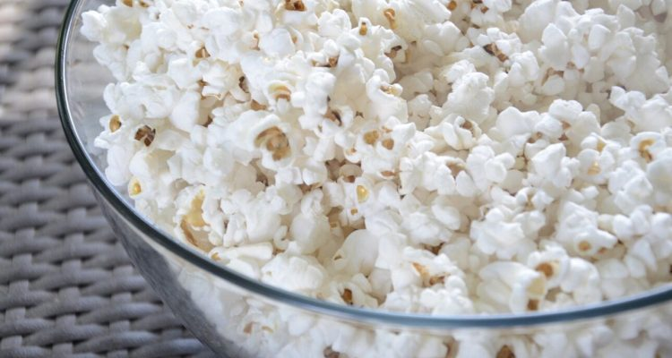 Popcorn for movies at home