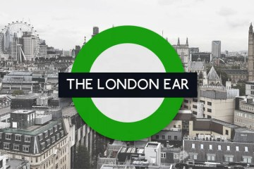 Irish music on The London Ear with Nessy - green roundel on a London skyline